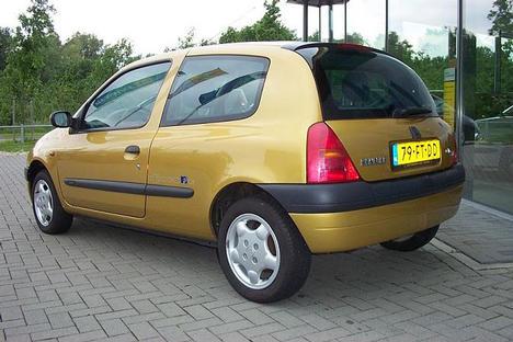 Encyclopdie clio ii 1998 2001 - Couleur jaune paille ...